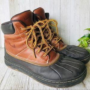 Nike Waterproof Ankle Duck Winter Hiking Boots